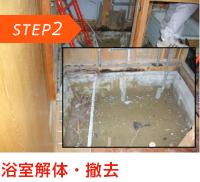 STEP2 浴室解体・撤去