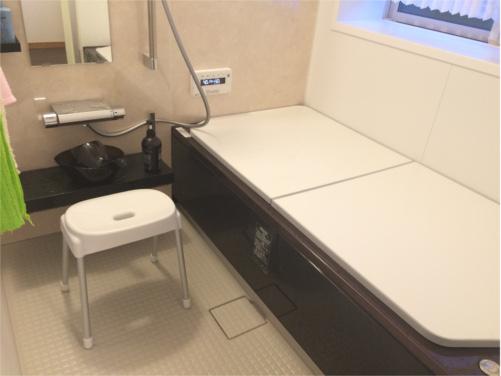 毎日使うバスルーム!いつも綺麗で快適な空間に!! 広くなった浴槽で、安らぎのひと時を実感!