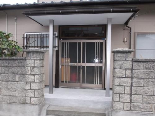 玄関廻り:施工後