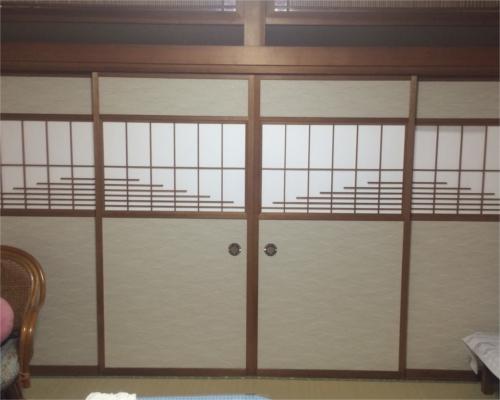 お家全体の障子と襖の張替をしました!お部屋の印象がとても明るくなりました!