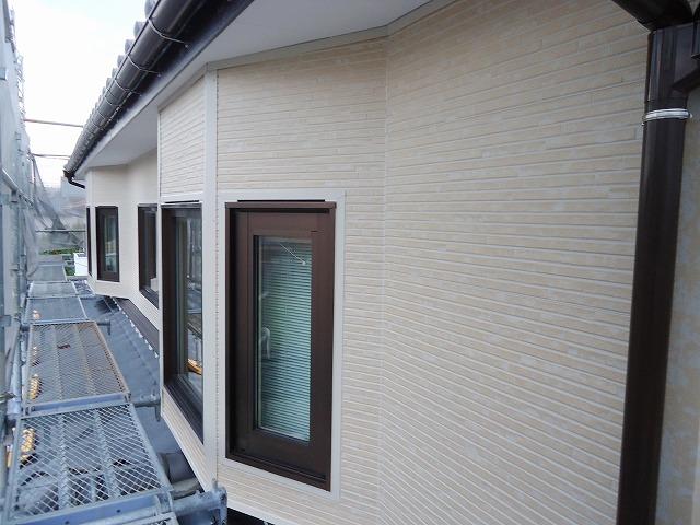 外壁サイディング:施工後