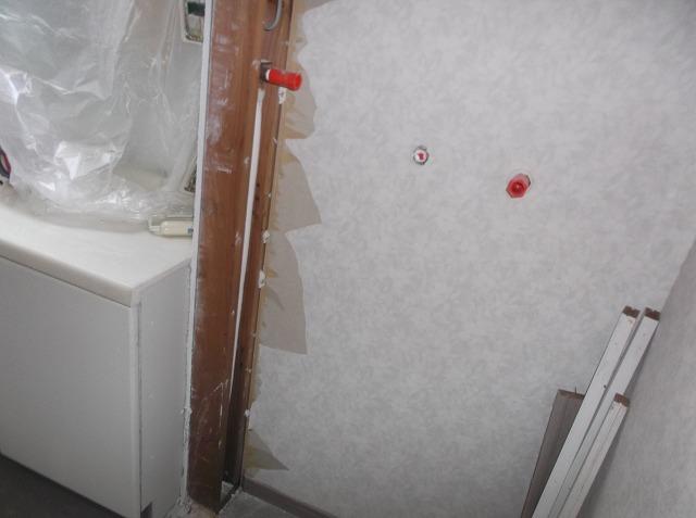 浴室改修:施工中