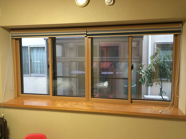 窓のリフォーム!1日施工のインナーサッシで寒さ対策!