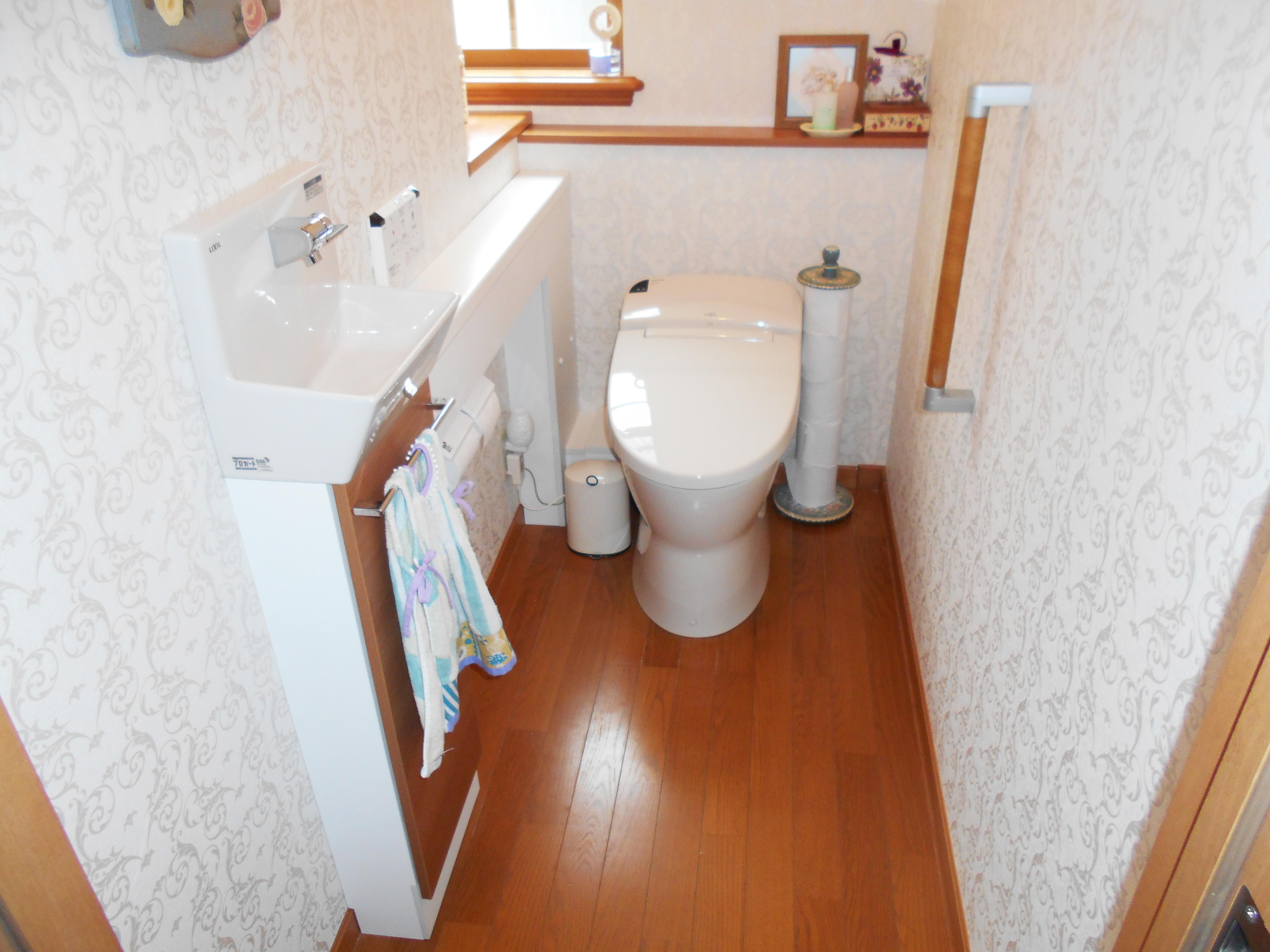 使い勝手の良いトイレ