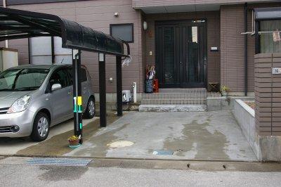 仕上がりが満足な駐車スペース