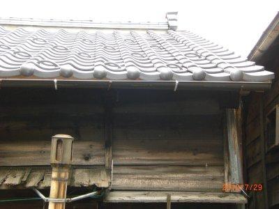 屋根のふき替え