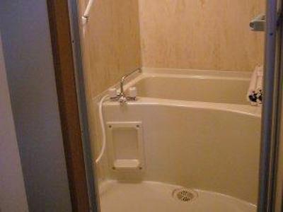 とても掃除がしやすい浴室に