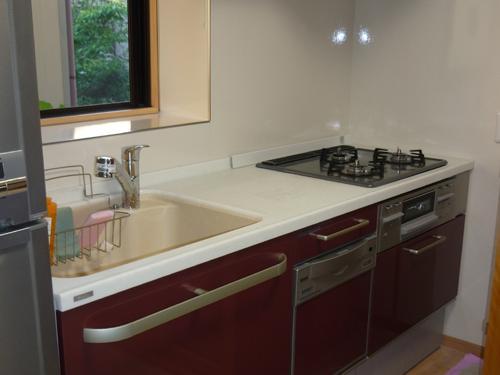 キッチン入替と内部改修