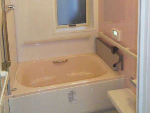 タイルのお風呂からあったかいお風呂へ