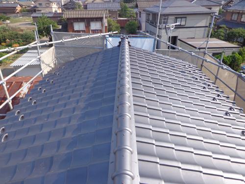 屋根揚替え工事