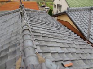 屋根;施工前