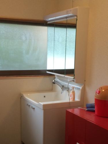 お手入れ簡単!トクラスの洗面台!
