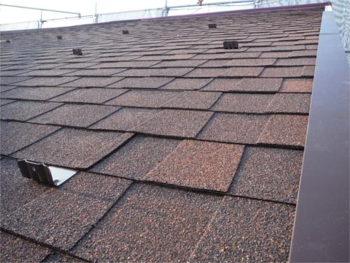 瓦屋根葺き替え:施工後