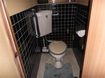 トイレ床:施工前