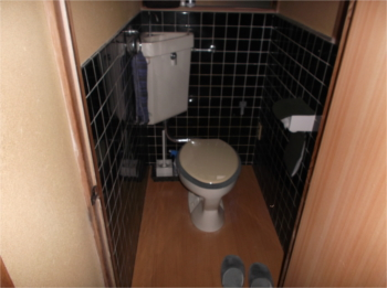 トイレ床:施工後