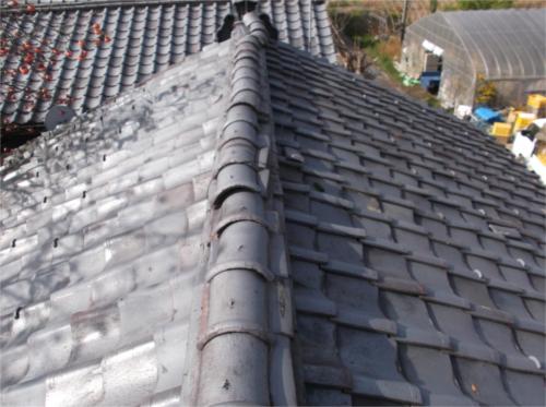 屋根修繕:施工前