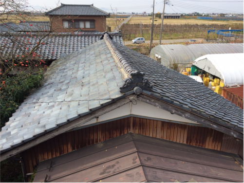 屋根修繕:施工後