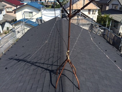 屋根葺き替えリフォーム:施工後