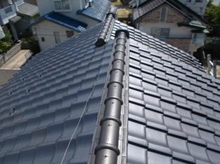 屋根葺き替えリフォーム:施工前