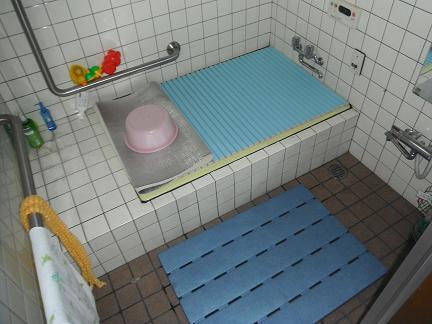 お風呂リフォーム:施工前
