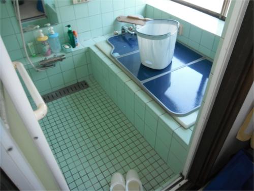 浴室改修:施工前