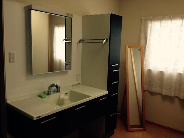 3階(物干し場・洗面室・居室):リフォーム後