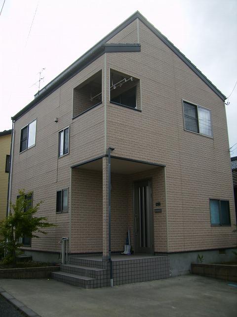 外壁サイディング:施工前