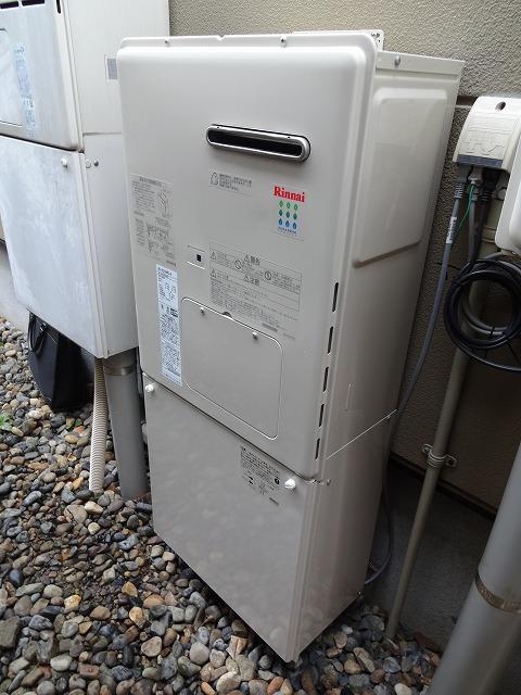 ガス暖房専用熱源機:施工後