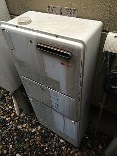 ガス暖房専用熱源機:施工前