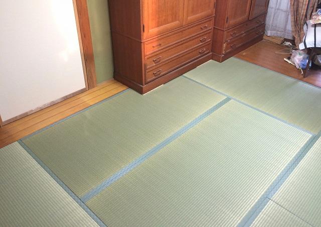 井草の香りがいっぱい♪畳の入替え和室の修繕リフォーム!