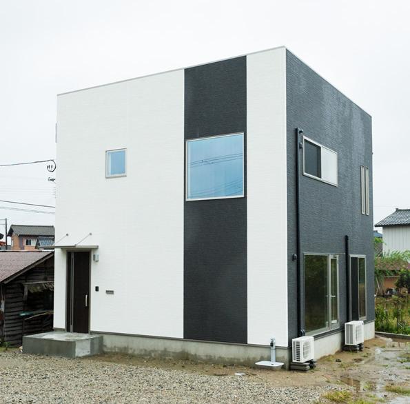 ハイセンスなデザインが光る家
