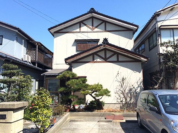 新潟市中央区・外壁工事・ビフォー