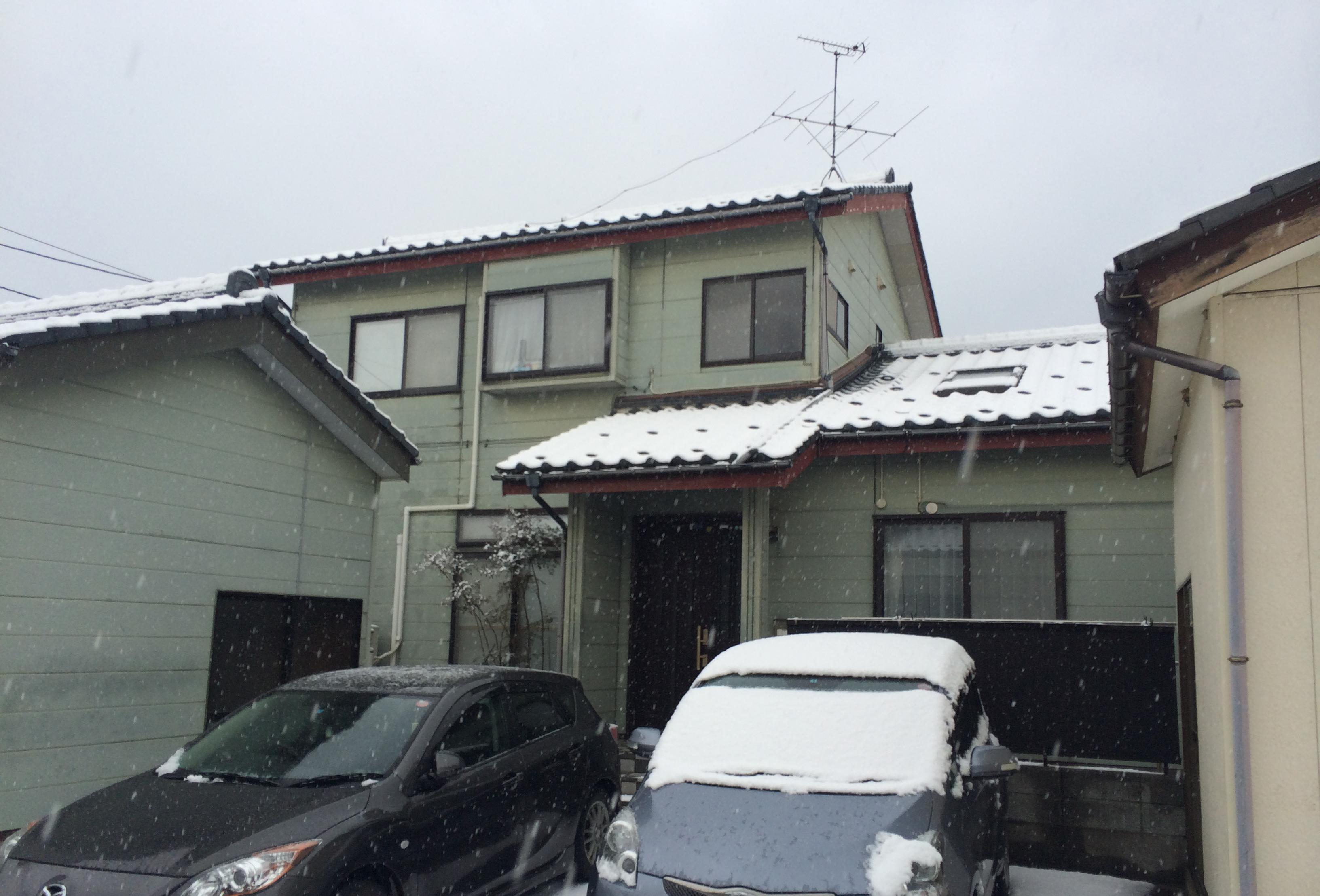 新潟市外壁サイディング工事・ビフォー