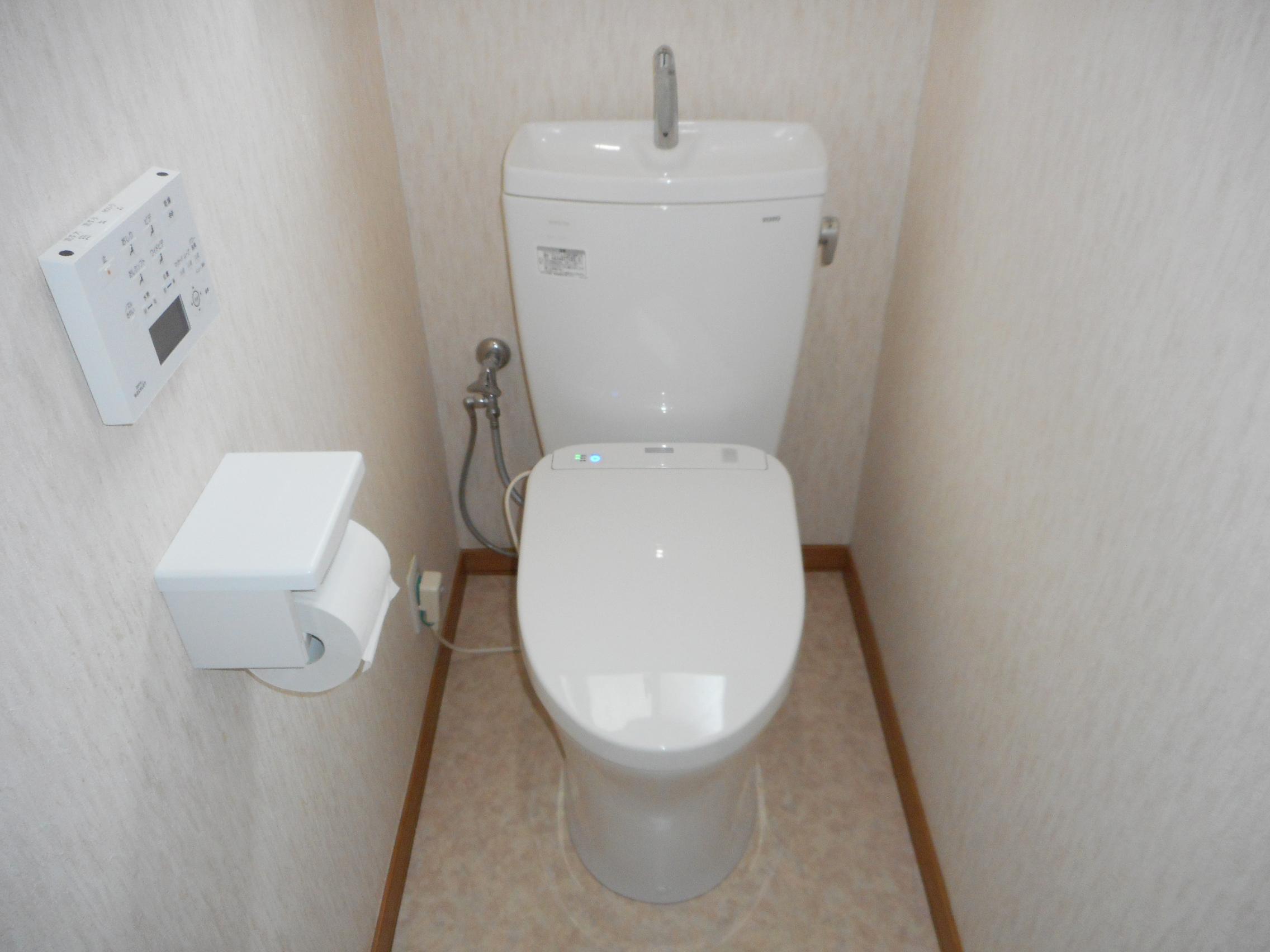 綺麗なトイレで気分も一新!