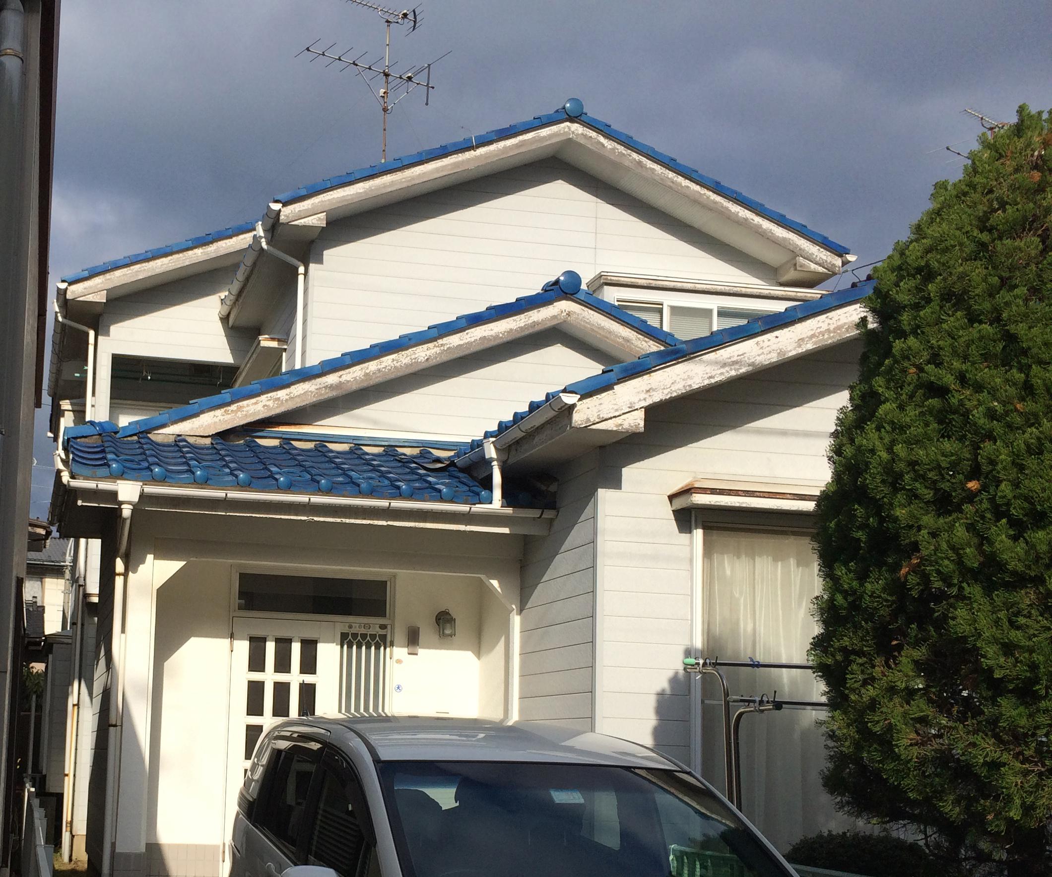 新潟市外壁塗装工事・ビフォー