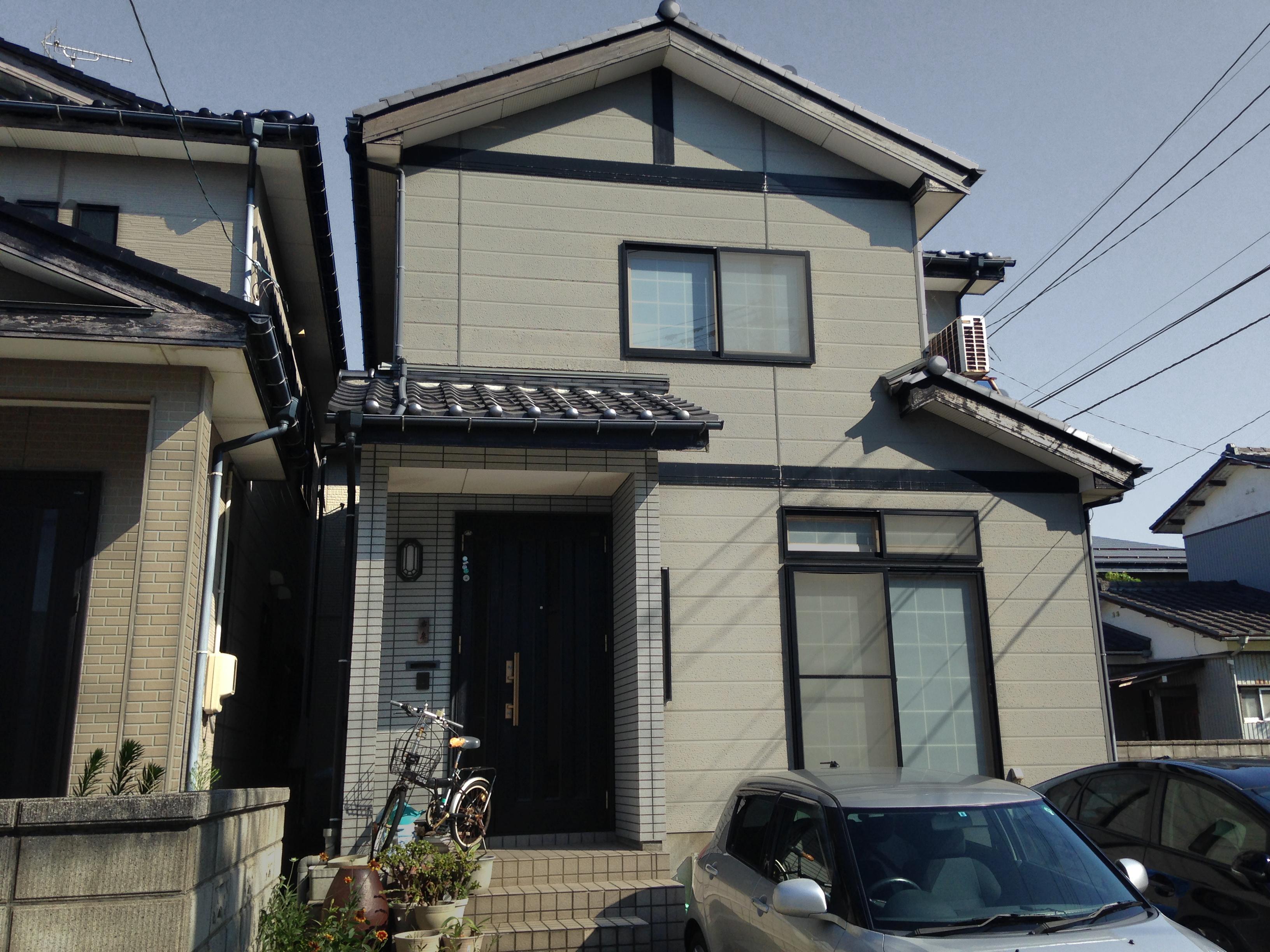 新潟市西区外壁塗装・ビフォー