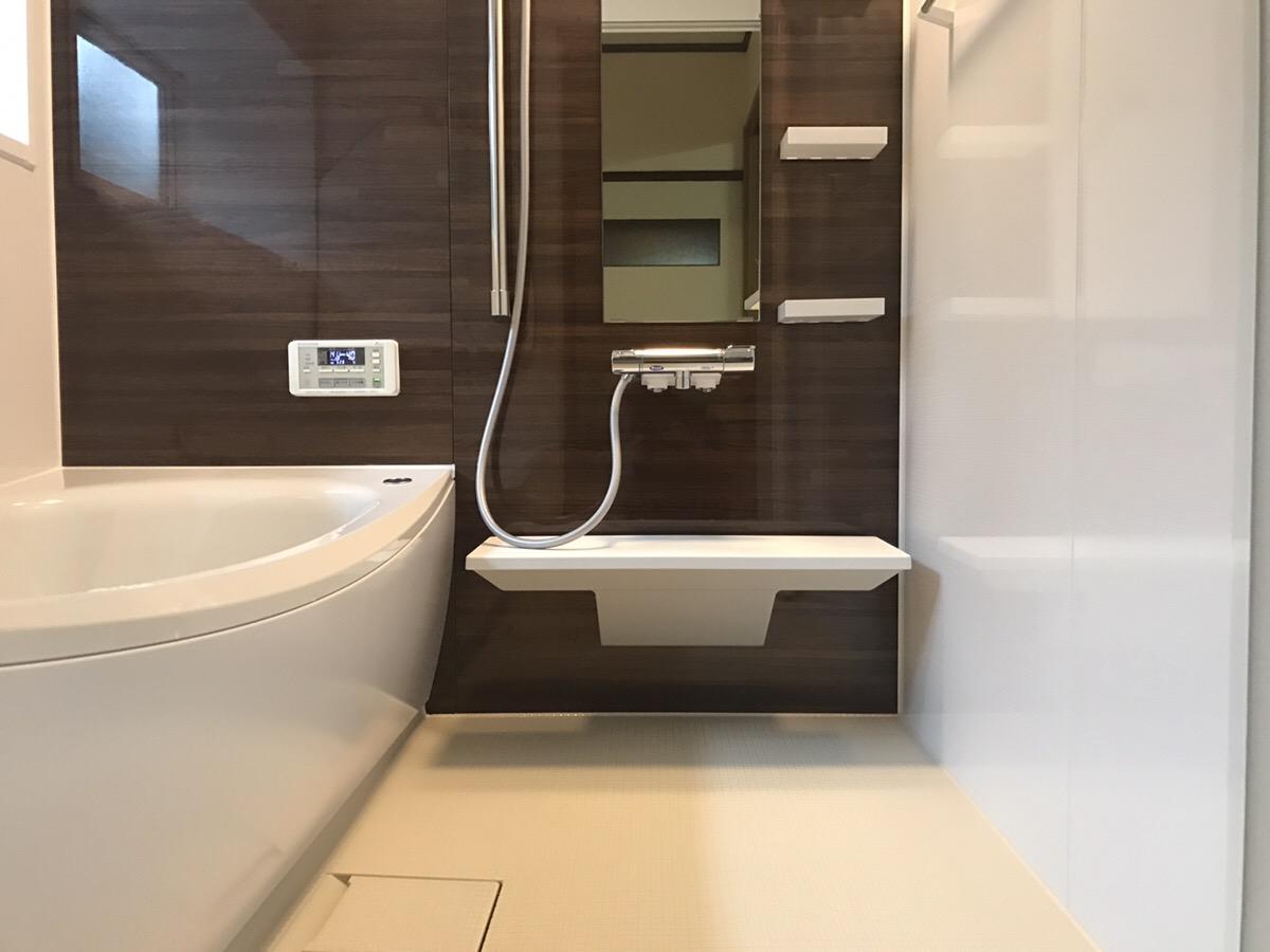 新潟市西蒲区浴室改修・アフター