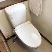 新潟市西区トイレ交換工事・アフター