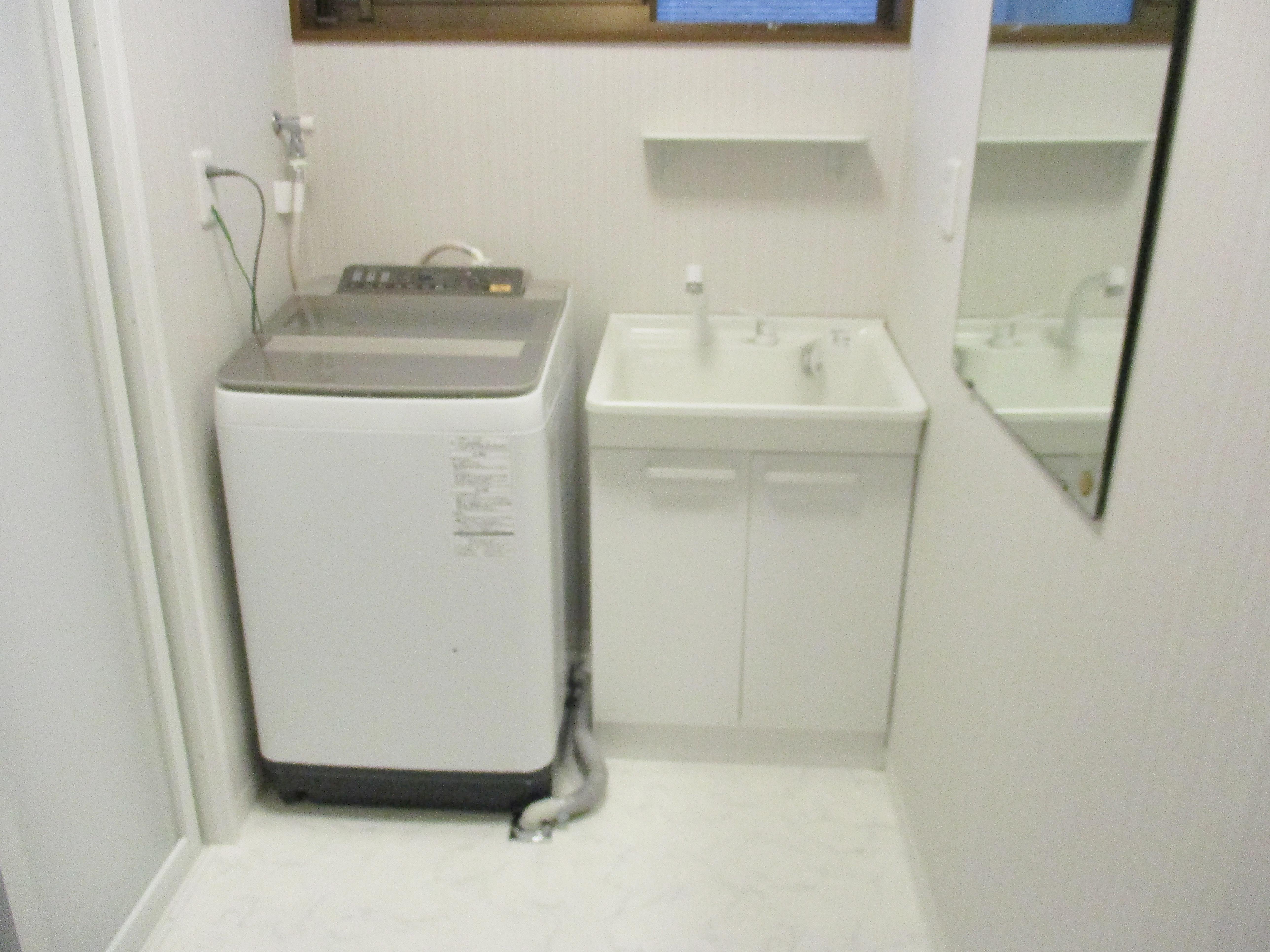 新潟市東区洗面室改修・アフター