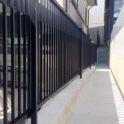 新潟市西区 フェンス設置工事