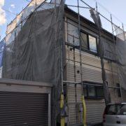 新潟市南区 外壁カバーリング工事