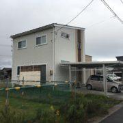 新潟市西蒲区 フェンス設置
