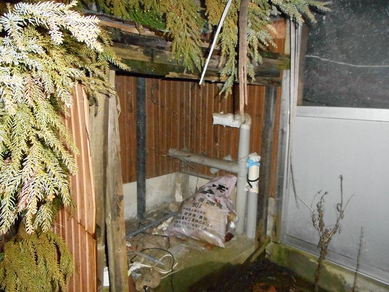 新潟市南区 給湯器交換・ビフォー