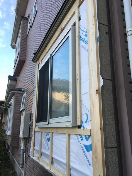 窓入れ替え工事