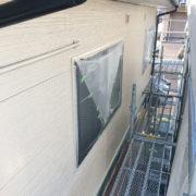 外壁塗装施工中