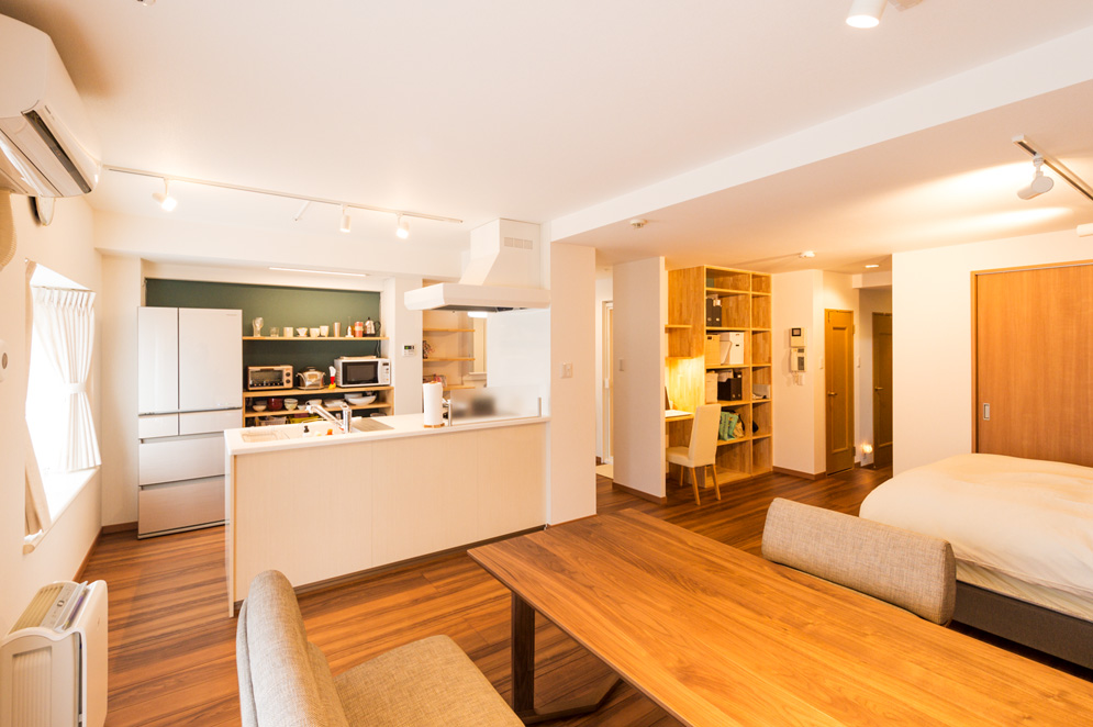 開放感のあるマンションリノベーション