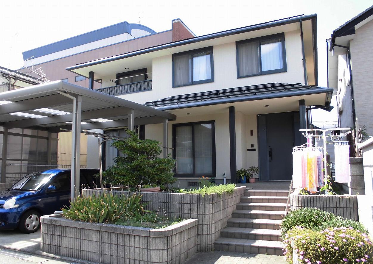 高耐候の外壁&屋根塗装