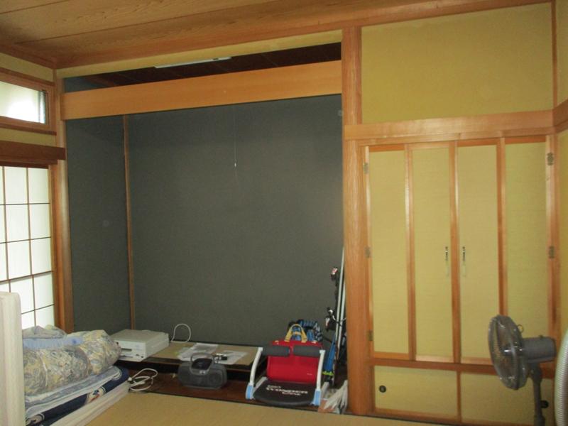 和室改修前