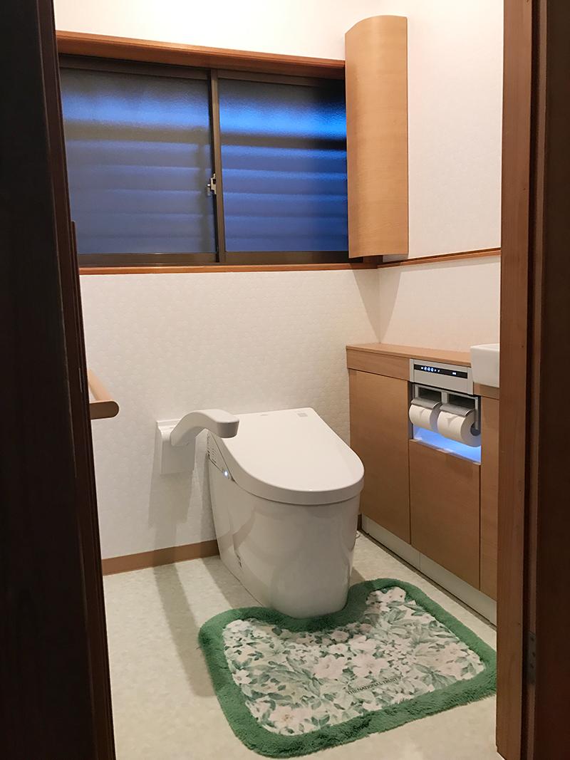 小便器から洋式トイレにリフォーム!