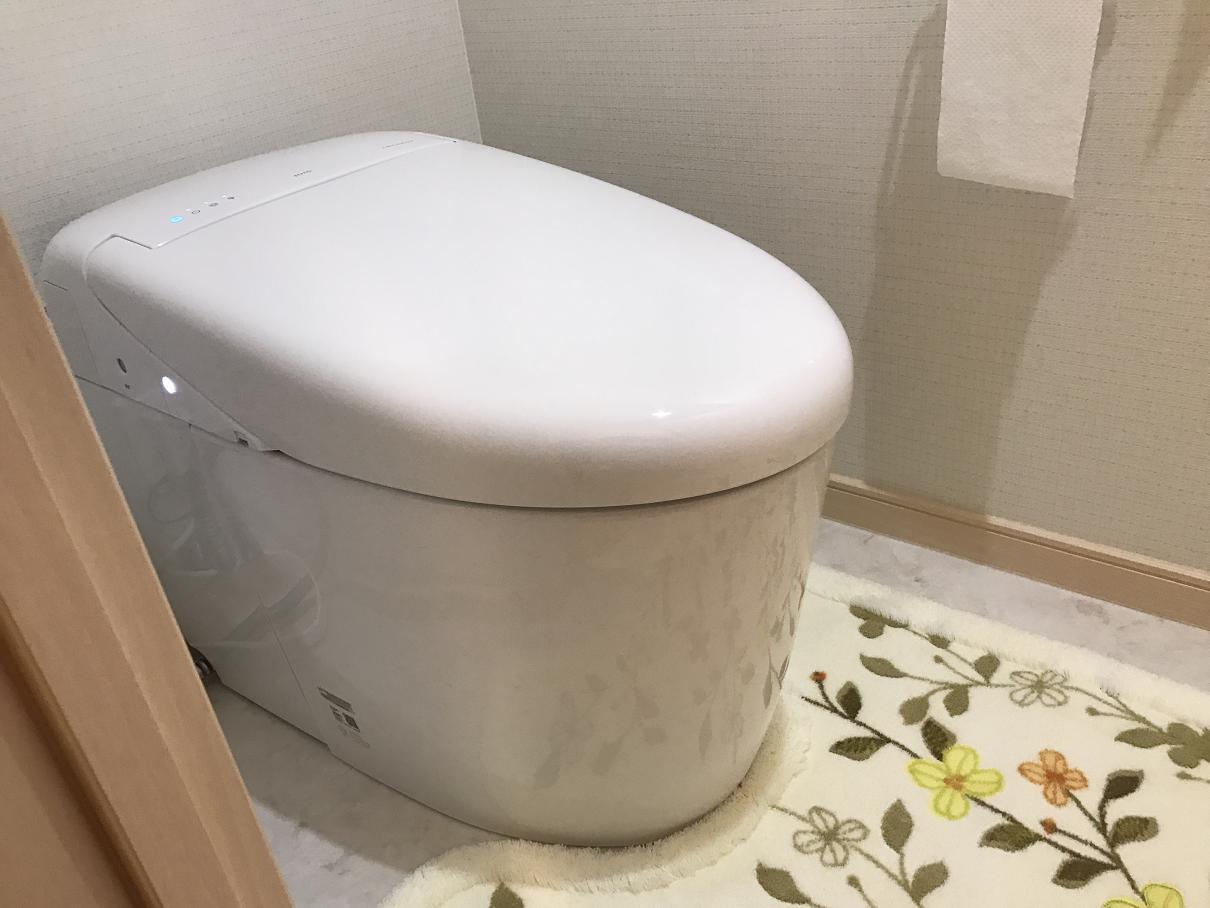 除菌水でいつも清潔なトイレ
